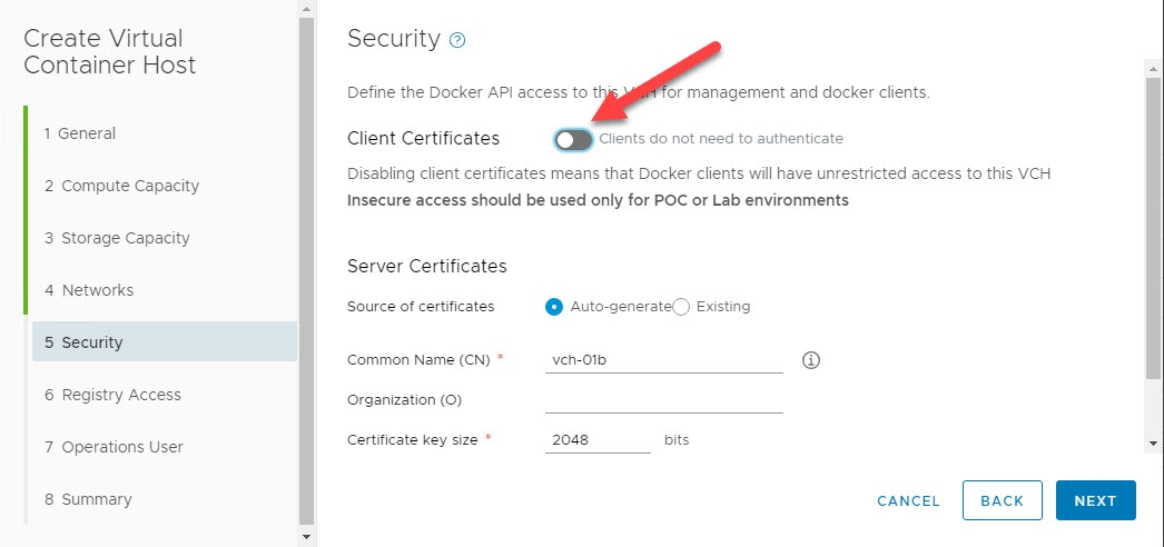 Deploy VMware vSphere Integrated Containers 1 5 – Do It Yourself