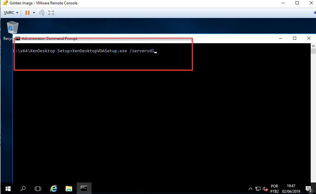 Install and configure Server VDI – Do It Yourself